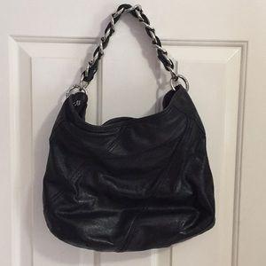 Black Soft Leather Michael Kors Handbag